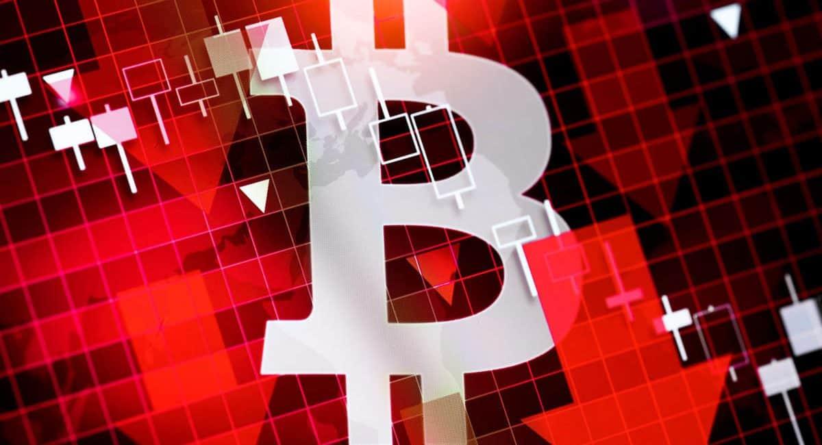 قیمت بیت کوین در زیر ۳۴۵۰ دلار معلق است، همانطور که بقیه ارزها در نزول هستند