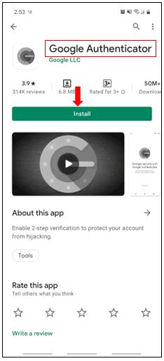 دانلود Google Authentication
