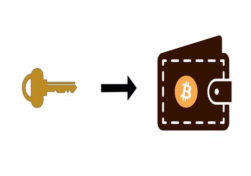 کلید خصوصی کیف پول ارز دیجیتال