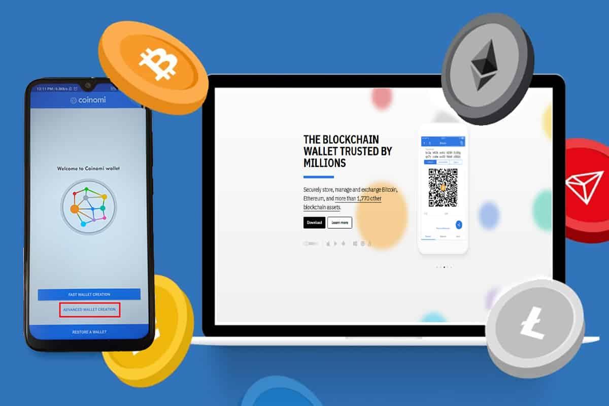 کیف پول کوینومی؛ آموزش کیف پول نرمافزاری Coinomi