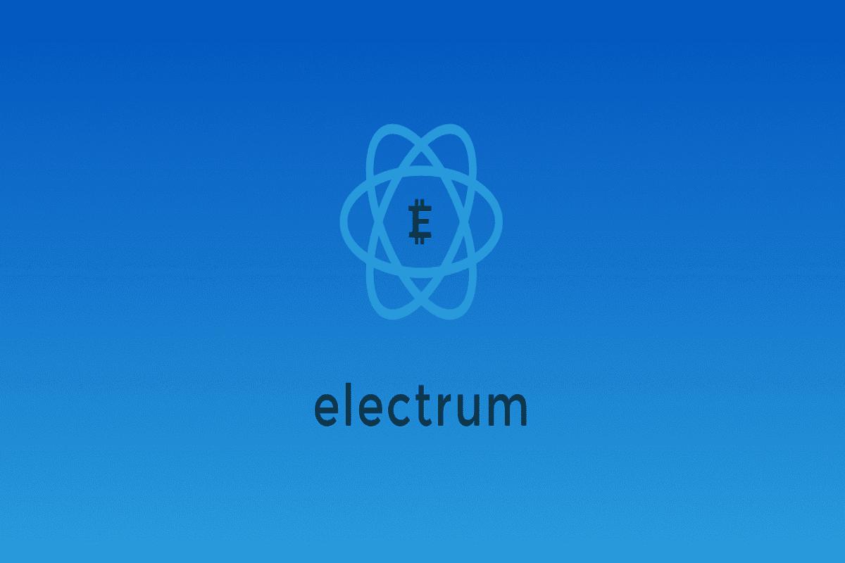 کیف پول الکتروم آموزش کیف پول نرمافزاری Electrum